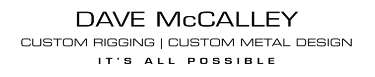 Dave McCalley | Custom Metal Design and Fabrication