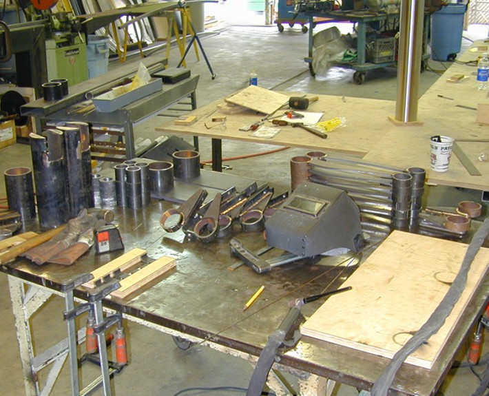 Parts for Cantebury Park bench